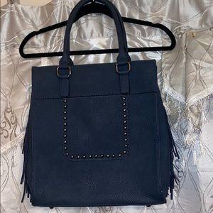 🌸NWOT black rivet handbag
